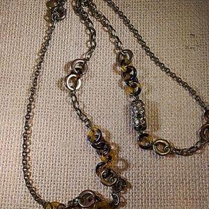 J.Crew bronze tone necklace